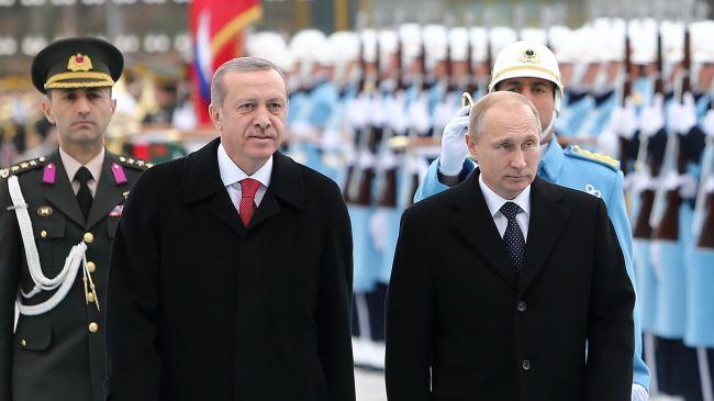 TURKI DAN RUSIA SEPAKAT PERANGI TEROR DI SURIAH