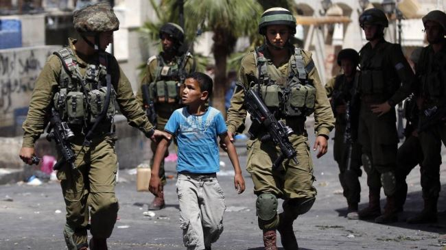 ISRAEL TANGKAP LEBIH DARI SERIBU BOCAH PALESTINA