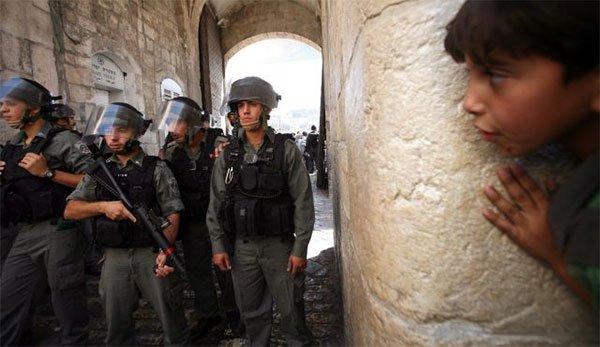 ISRAEL TAHAN 1.266 ANAK-ANAK PALESTINA DI BAWAH USIA 15 TAHUN