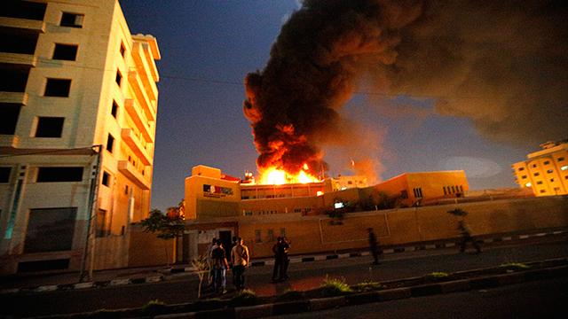 HAMAS KUTUK SERANGAN PUSAT KEBUDAYAAN PRANCIS DI GAZA