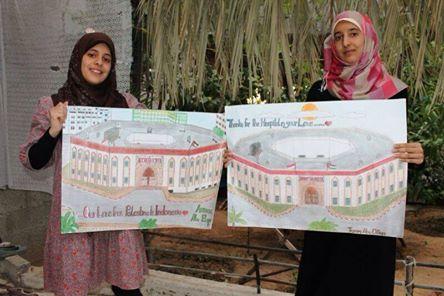 GADIS GAZA INGIN BERJAMAAH DENGAN MUSLIM INDONESIA DI AL-AQSHA