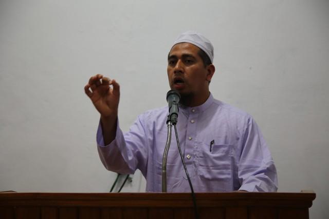 Abdullah Abu Bakar, Pengurus Majelis Agama Islam Thailand.Photo By : Hadis/MINA