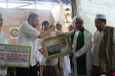 FPI SUMBANG BANK DARAH UNTUK RS INDONESIA DI GAZA
