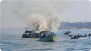 AL ISRAEL KEMBALI TEMBAKI PERAHU NELAYAN GAZA