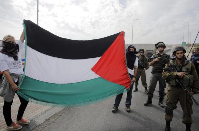 PALESTINA BERI WAKTU ISRAEL DUA TAHUN AKHIRI PENDUDUKAN