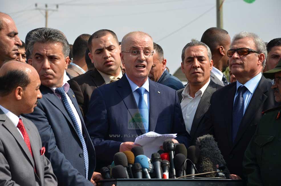 PM PALESTINA BENTUK KOMITE UNTUK KONTROL PENYEBERANGAN GAZA