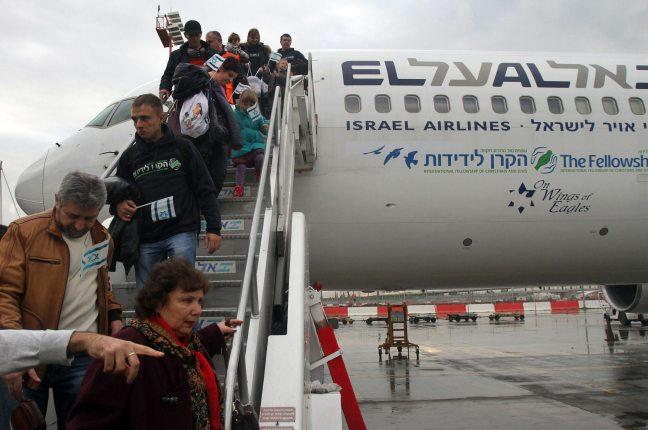 233 Imigran Yahudi Mendarat di Bandara Ben Gurion