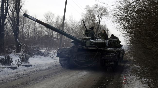 ENAM ORANG TENTARA UKRAINA TEWAS PASCA GENCATAN SENJATA
