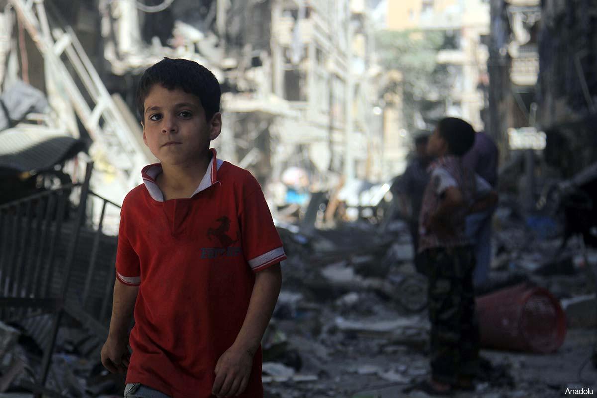 UNICEF: 7,3 JUTA ANAK-ANAK SURIAH TERKENA DAMPAK KONFLIK