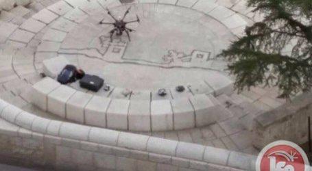EKSTRIMIS ISRAEL TERBANGKAN DRONE DI SEKITAR KOMPLEKS AL-AQSHA