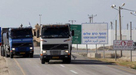 Israel Buka Perlintasan Karm Shalem untuk Masuknya Gas dan Diesel