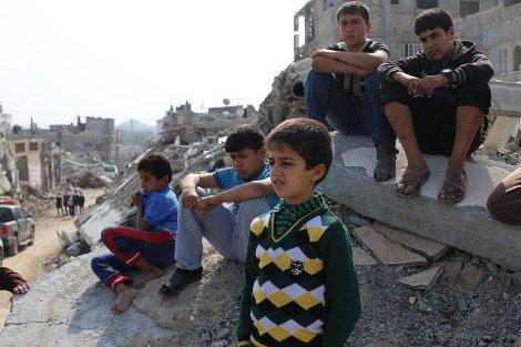 PEMERINTAH QATAR MULAI BANGUN 1000 RUMAH DI GAZA