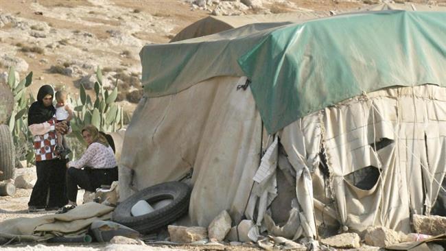 ISRAEL BERUSAHA HANCURKAN SEBUAH DESA DI TEPI BARAT