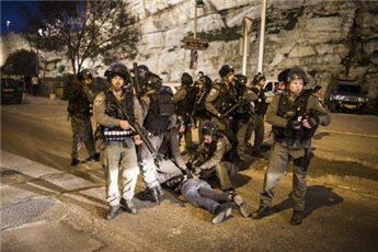 JIP POLISI ISRAEL TERBAKAR DI AL-QUDS TIMUR, LIMA PEMUDA PALESTINA DITAHAN