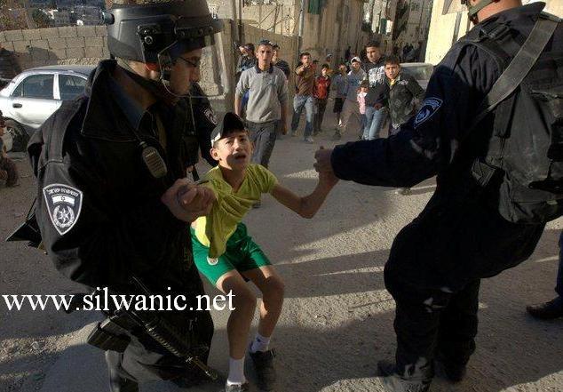 Silwan-child-arrest