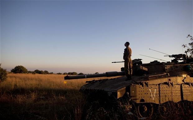 PESAWAT TEMPUR ISRAEL SERANG MILITAN BAWA BOM MENUJU GOLAN