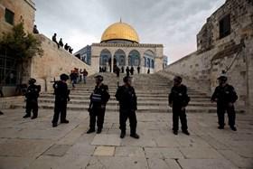 ISRAEL 23 KALI SERBU MASJID AL-AQSHA SELAMA MARET