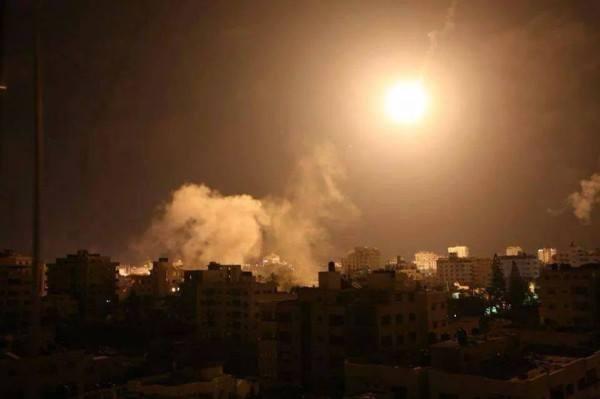 ISRAEL SERANG UTARA JALUR GAZA JUMAT DINI HARI