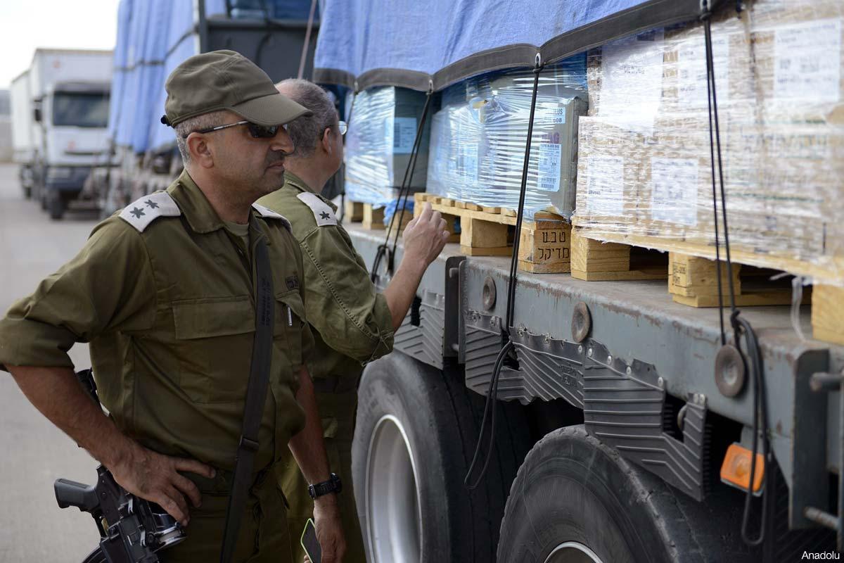 ISRAEL LARANG BARANG IMPOR MASUK KE GAZA