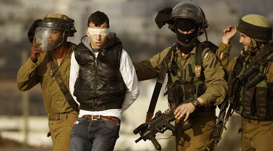 SEPEKAN TERAKHIR ISRAEL TANGKAP 103 WARGA PALESTINA DI TEPI BARAT