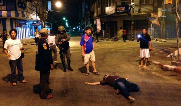 EMPAT BOM GUNCANG WILAYAH MUSLIM THAILAND SELATAN