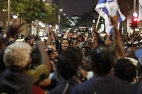 YAHUDI ETHIOPIA DEMO DISKRIMINASI PEMERINTAH ISRAEL
