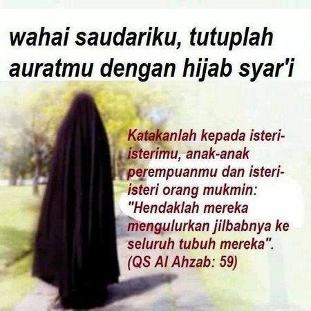 SYARAT PAKAIAN MUSLIMAH