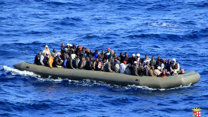 RATUSAN MIGRAN AFRIKA DIKIRIM PULANG KE LIBYA