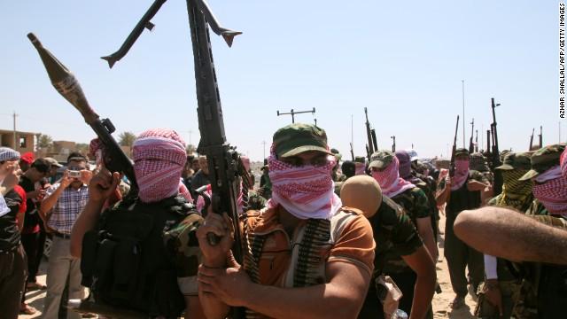 IRAK BALAS SERANG ISIS DI PROVINSI ANBAR