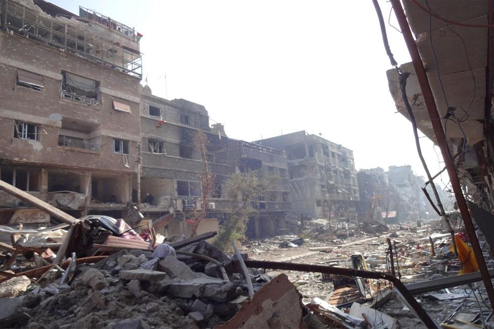 Pemerintah Suriah Rencanakan Bangun Kembali Kamp Yarmouk