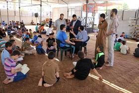 SEKITAR 30 RIBU PELAJAR GAZA IKUT PROGRAM MUKHOYYAM HAFALAN AL-QUR'AN