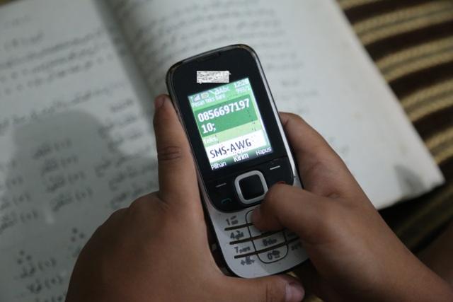 AQSA WORKING GROUP KEMBALI TERBITKAN LAYANAN SMS KABAR PALESTINA