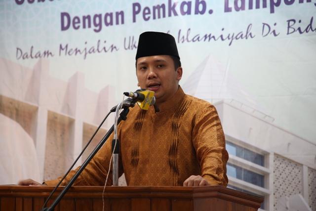 Gubernur Lampung, Ridho FIcardo. Photo : Hadis/MINA