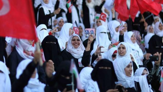 TURKI SPONSORI PERNIKAHAN DUA RIBU PASANGAN DI GAZA