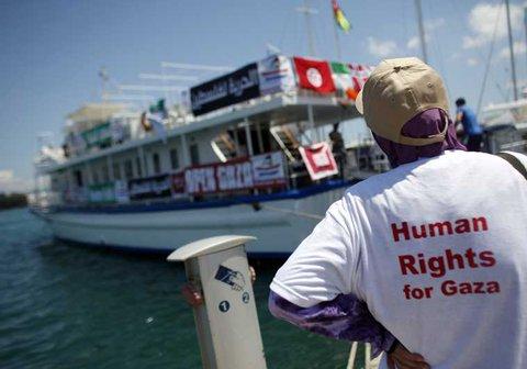 Freedom Flotilla Akan Terus Berlayar Sampai Gaza Terbebas