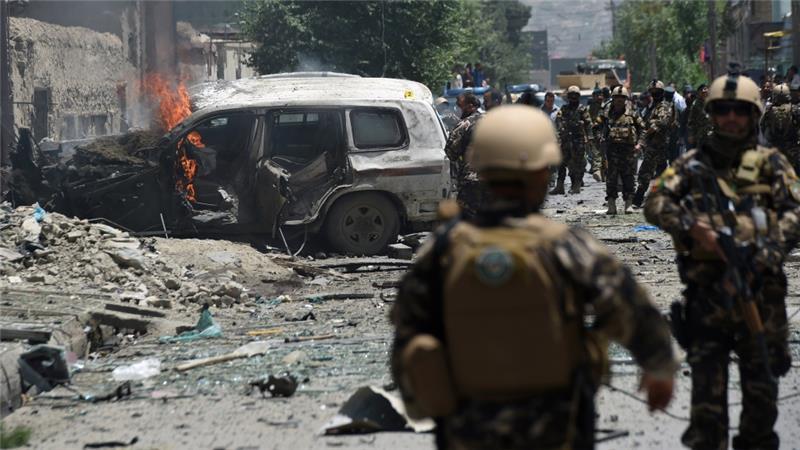 BOM MOBIL HANTAM KONVOI NATO DI AFGHANISTAN