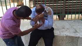 ISRAEL SERANG SATPAM MASJID AL-AQSHA