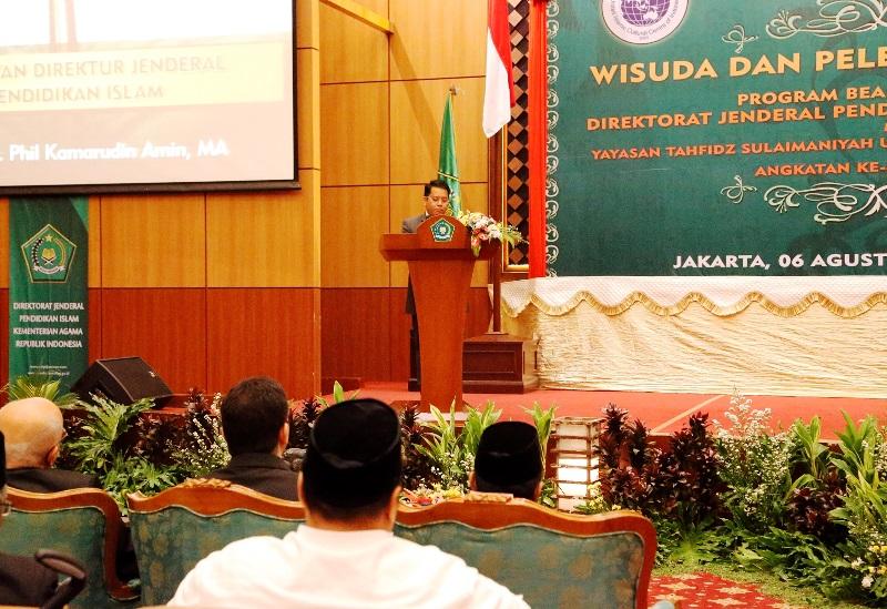 DIRJEN PENDIS: PENDIDIKAN ISLAM INDONESIA HARAPAN DUNIA