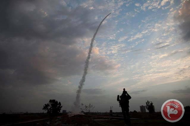 ROCKET YANG DITEMBAKKAN DARI GAZA MENDARAT DI ISRAEL SELATAN