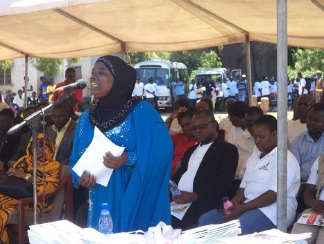 AISHA MAMBO LEGISLATOR MUSLIMAH PERTAMA DI MALAWI AFSEL