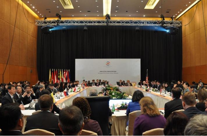 HADAPI MEA, MENTERI ASEAN PERKUAT KOORDINASI INTERNAL
