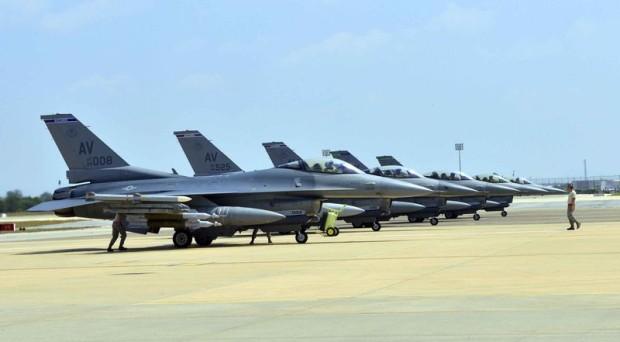 AS KIRIM ENAM PESAWAT TEMPUR F-16 KE TURKI MELAWAN ISIS