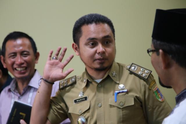 Wahyu, Kepala Bagian Pendidikan dan Kebudayaan (Kabag Dikbud) Biro Bina Mental Pemerintah Provinsi Lampung. Photo : Hadis/MINA