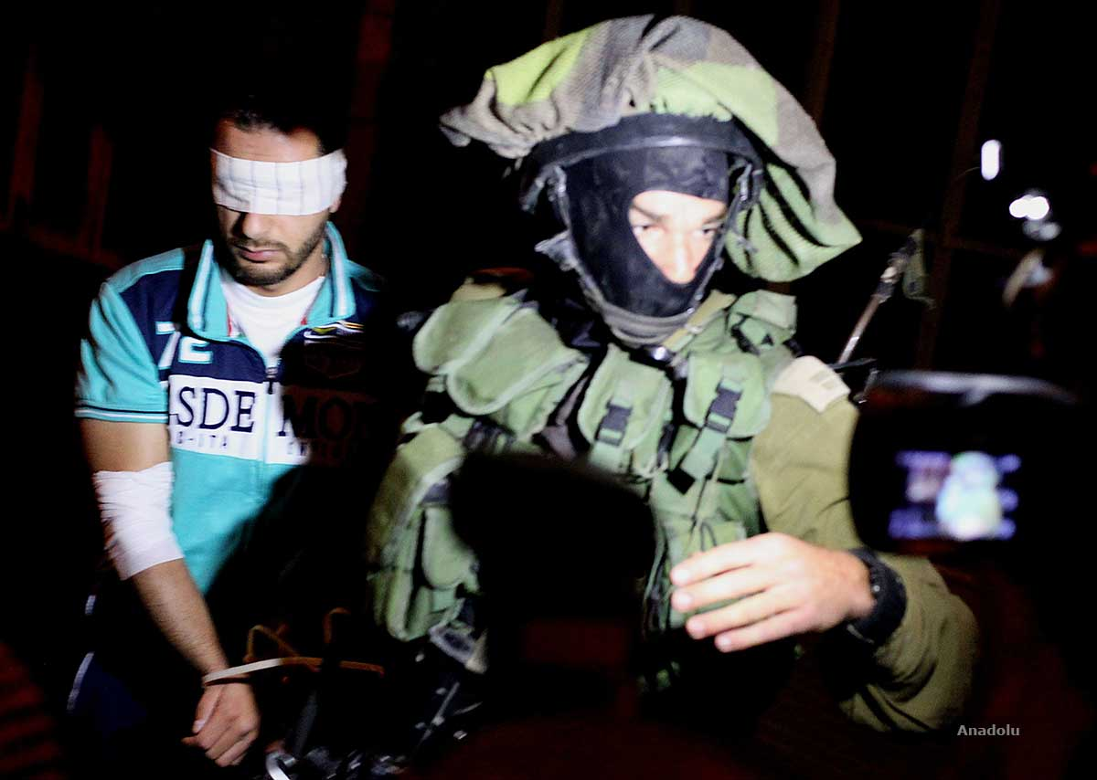 ISRAEL LANCARKAN AKSI PENANGKAPAN WARGA PALESTINA DI TEPI BARAT