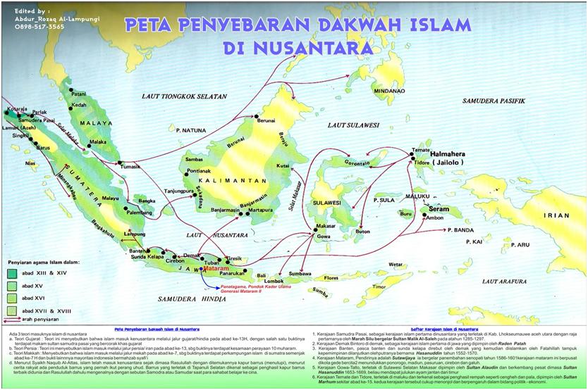 PENYEBARAN AWAL MASUKNYA ISLAM DARI MADURA HINGGA PAPUA