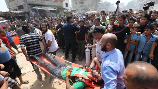 SISA RUDAL ISRAEL MELEDAK, EMPAT WARGA GAZA TEWAS