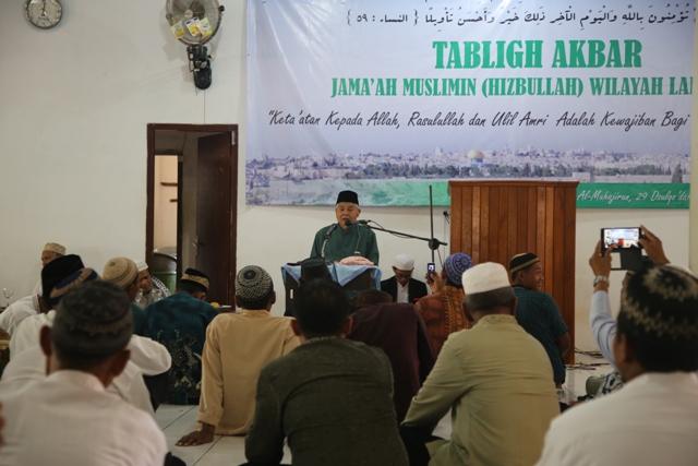 M. Damiri Thalib : Islam ajarkan Kehidupan Sosial yang Dinamis