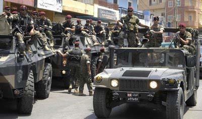 TENTARA LEBANON TANGKAP WARGA PALESTINA ATAS TUDUHAN TERORISME