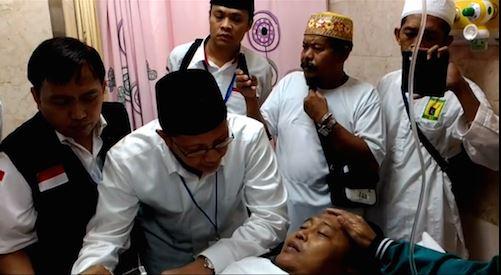 MUSIBAH CRANE ROBOH MASJIDIL HARAM TUJUH JAMAAH HAJI INDONESIA WAFAT