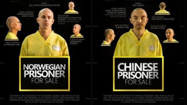 """ISIS """"JUAL"""" SANDERA CHINA DAN NORWEGIA"""